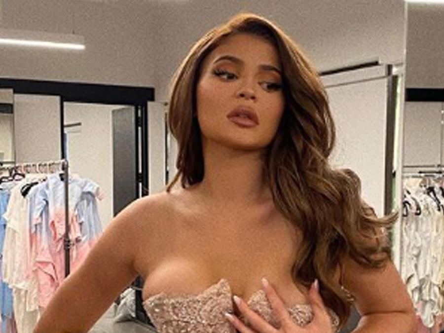 Kylie Jenner en lencería