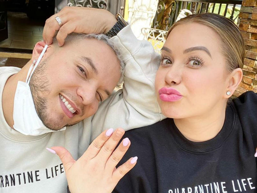 Chiquis Rivera con Lorenzo Méndez