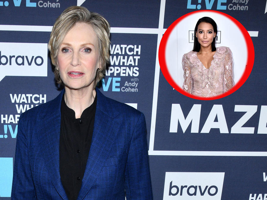 Jane Lynch y Naya Rivera