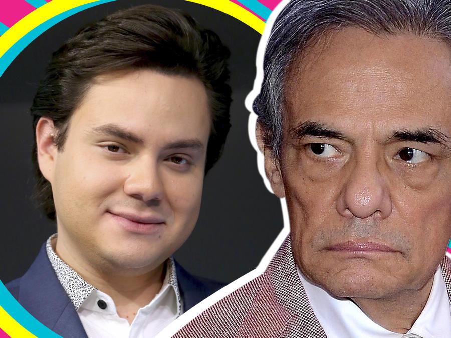 Amiga José José supuesto hijo Manuel José