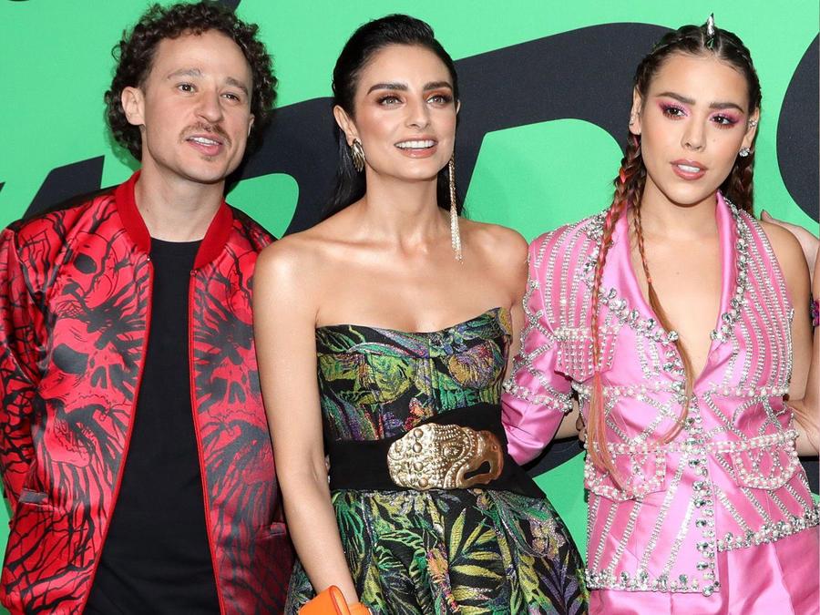 Luisito Comunica, Aislinn Derbez, Danna Paola en 2020 Spotify Awards