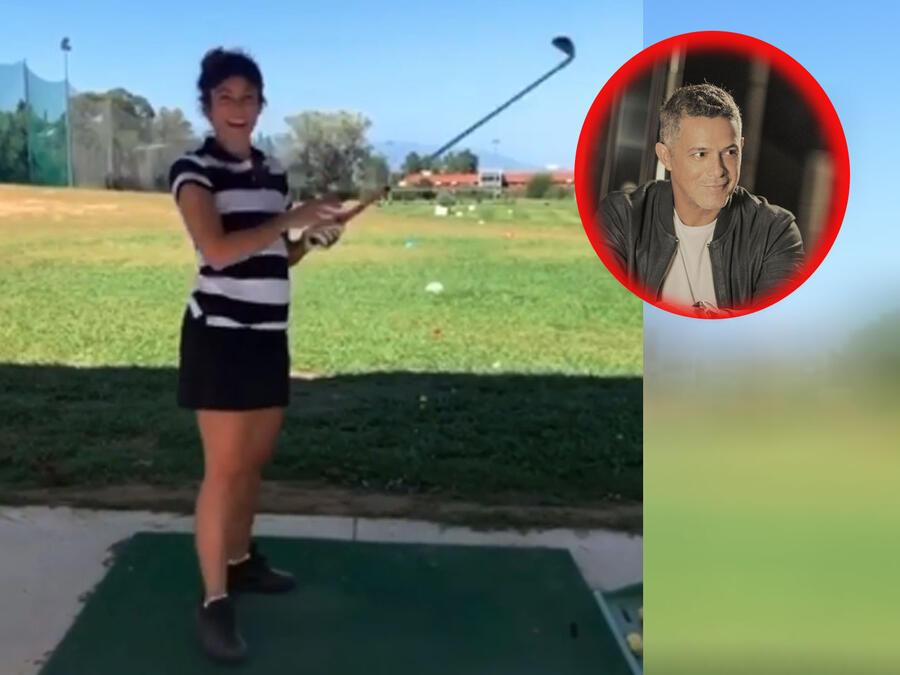 Shakira demuestra que una experta en el golf