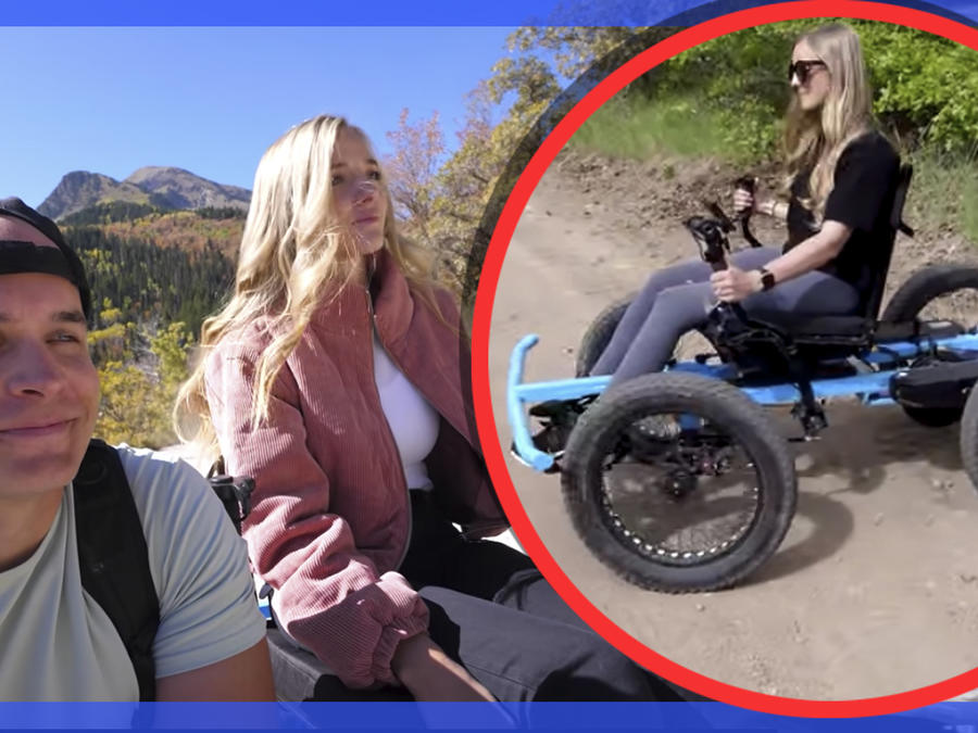 silla de ruedas esposa
