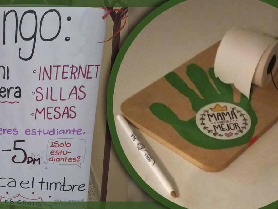 mamá e hija internet gratis estudiantes