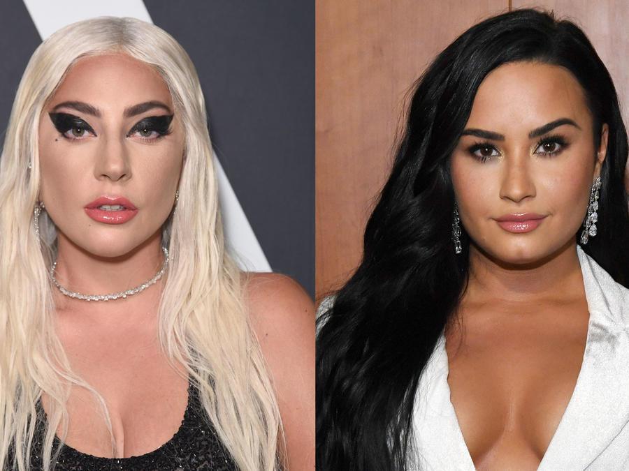 Lady Gaga y Demi Lovato