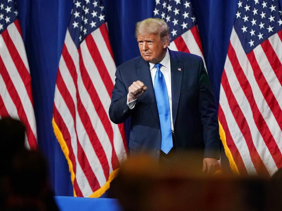 Trump participó en apertura de la Convención Nacional Republicana en Charlotte (Carolina del Norte)