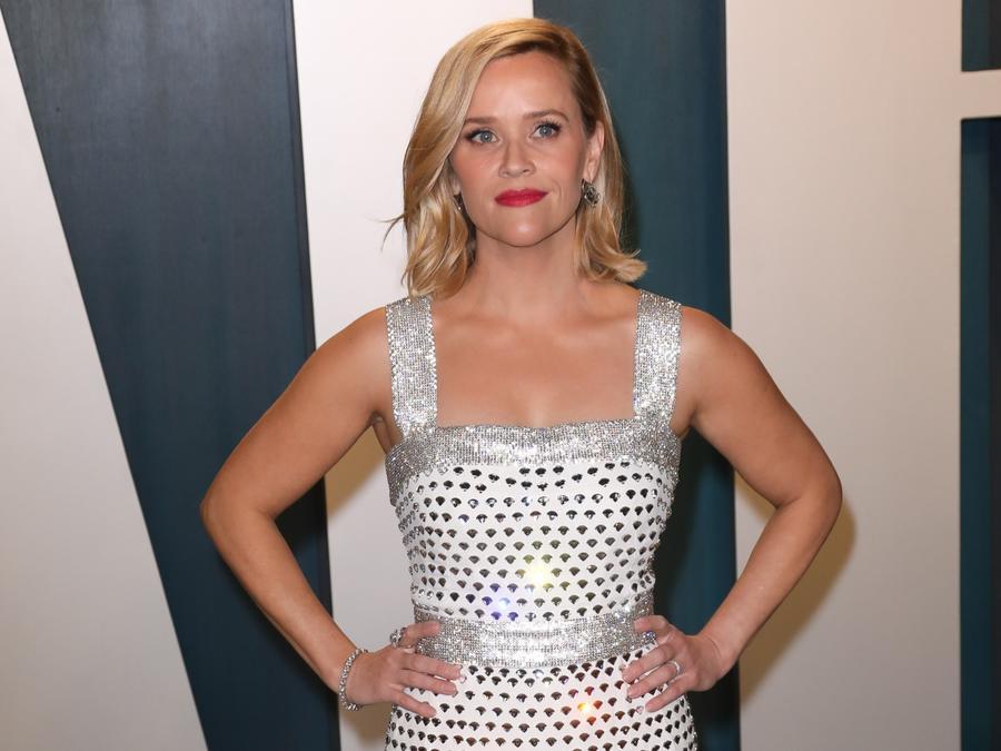 Reese Witherspoon en la fiesta Vanity Fair Oscar