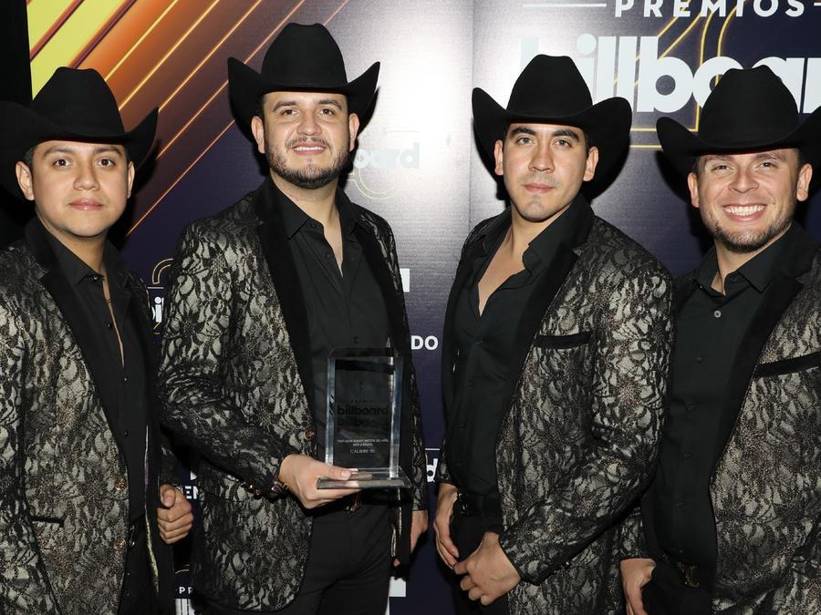 Calibre 50 en los Premios Billboard de la Musica Latina 2018