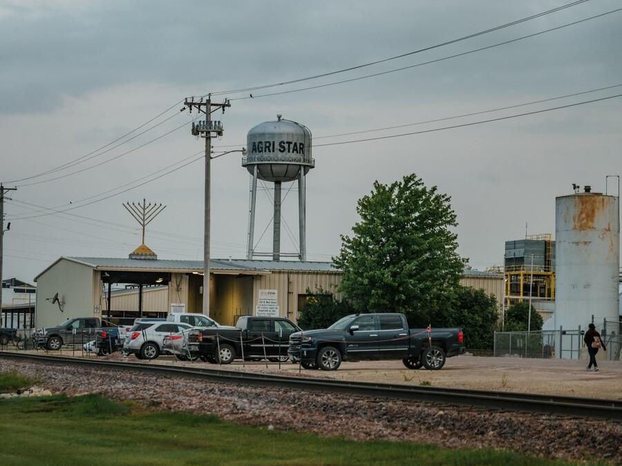 Instalaciones de Agri Star, en Postville, Iowa.