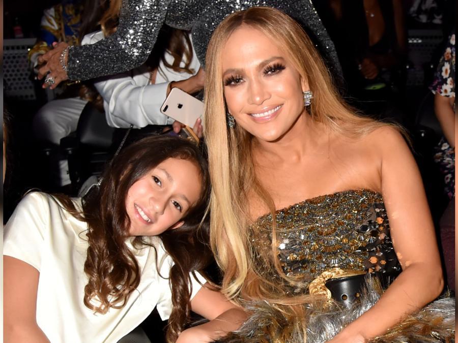 Jennifer Lopez y Emme en los MTV Video Music Awards 2018