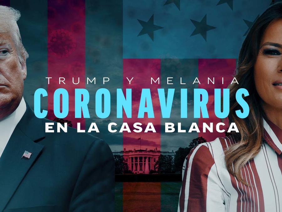 Trump y Melania positivos al COVID-19