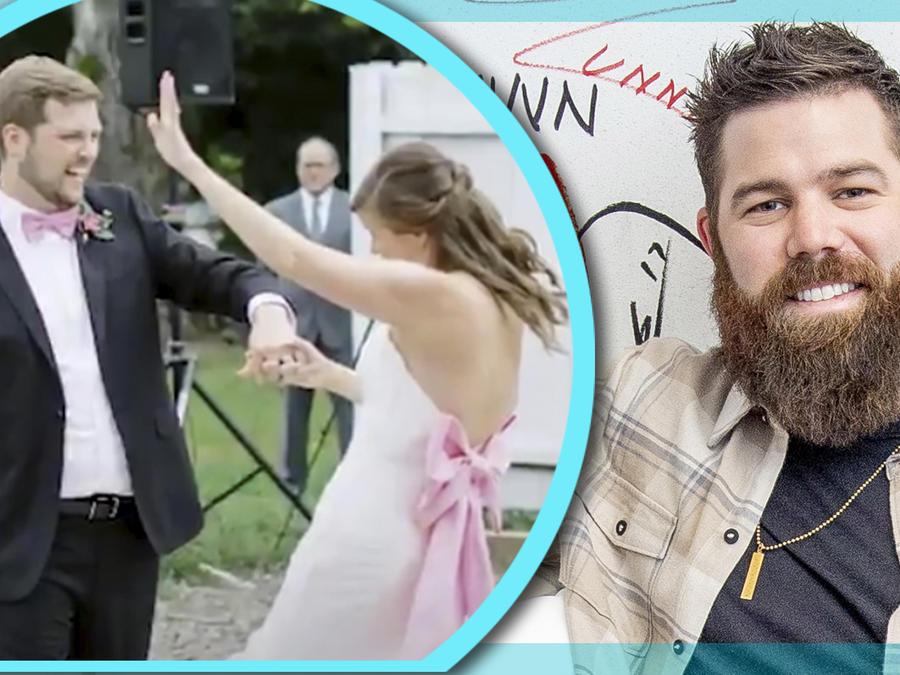 Jordan Davis novios boda sorpresa
