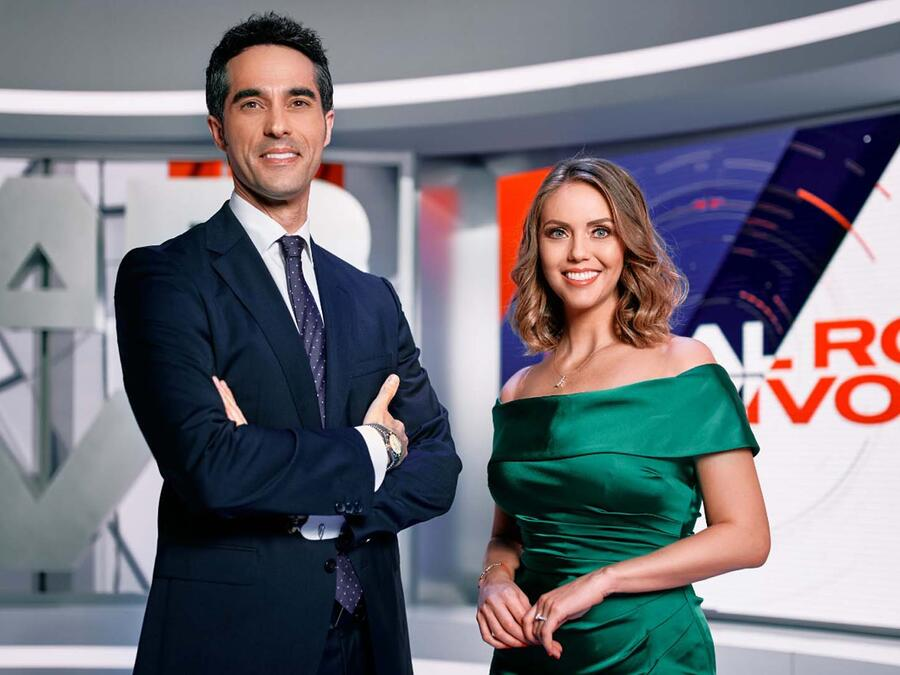Antonio Texeira y Jessica Carrillo de Al Rojo Vivo