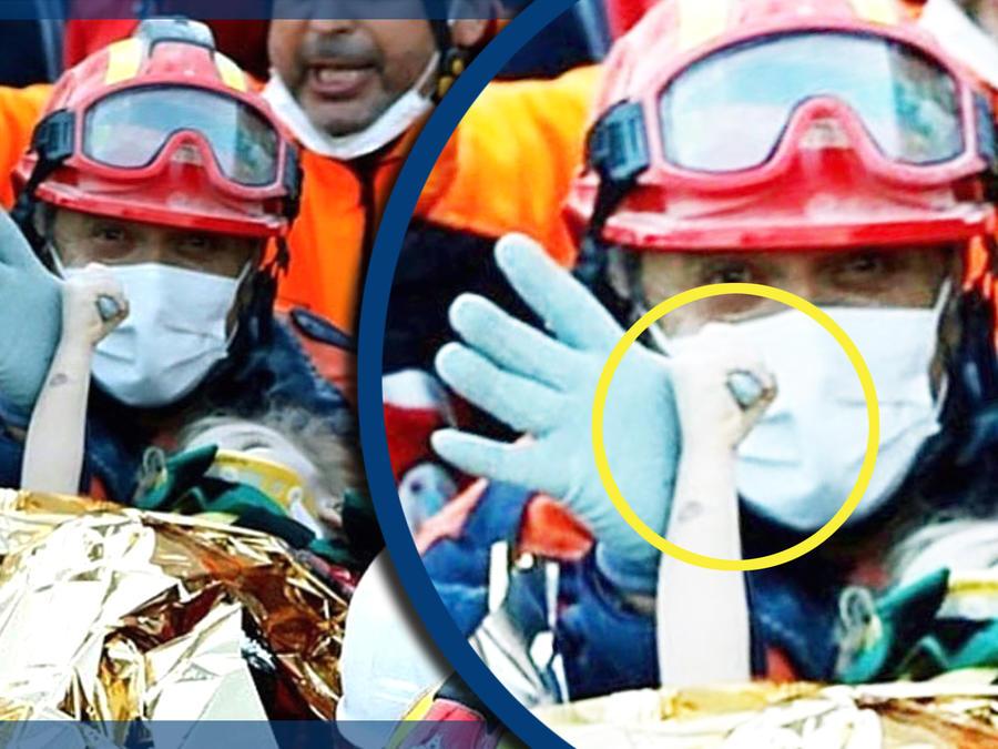 Rescate bebe sismo Turquía