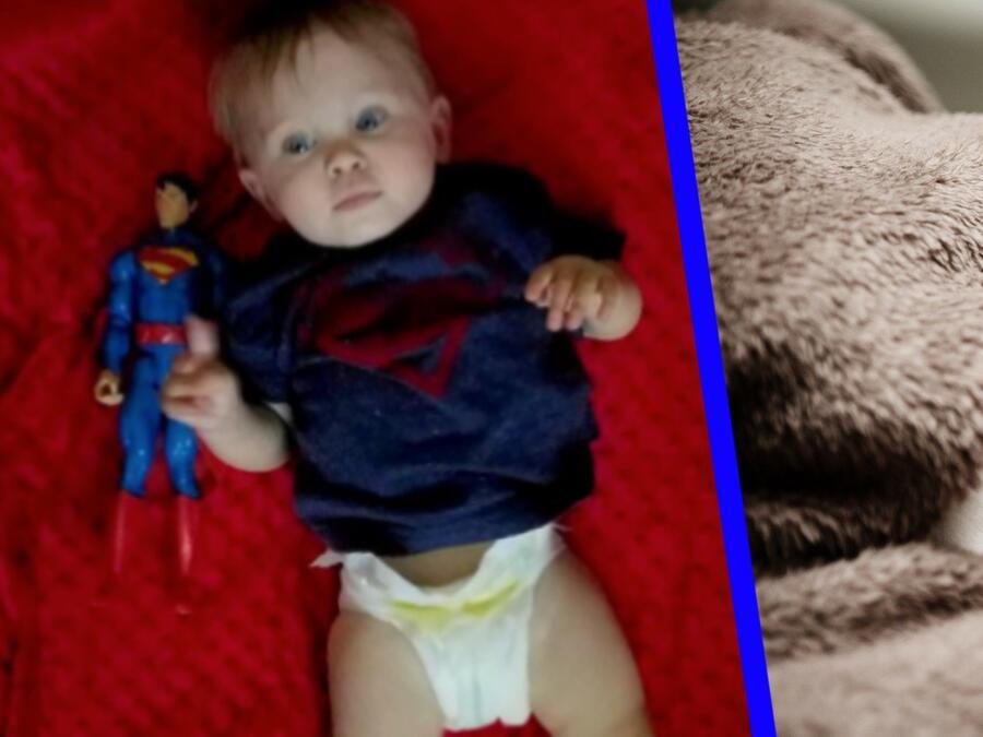 Bebé prematuro Superman