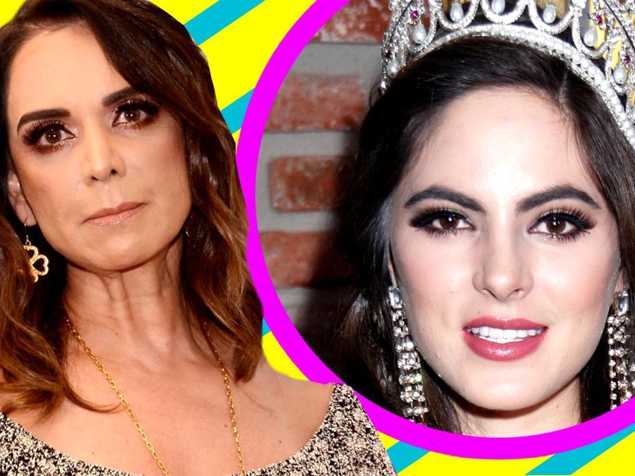 Lupita Jones se disculpa son Sofía Aragón