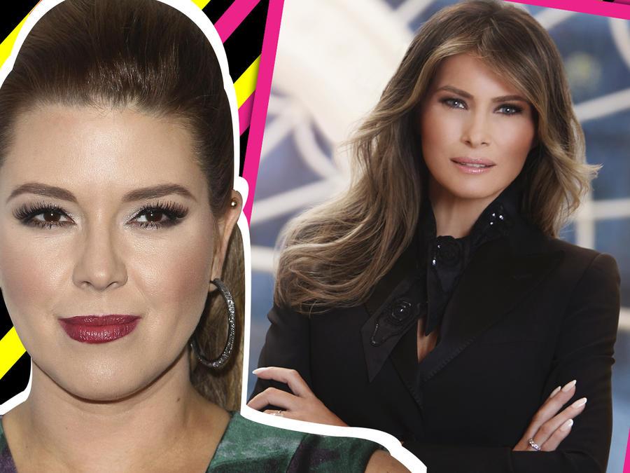 Alicia Machado vs Melania Trump