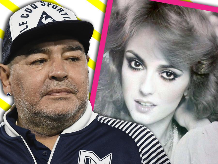 Merle Uribe romance con Maradona