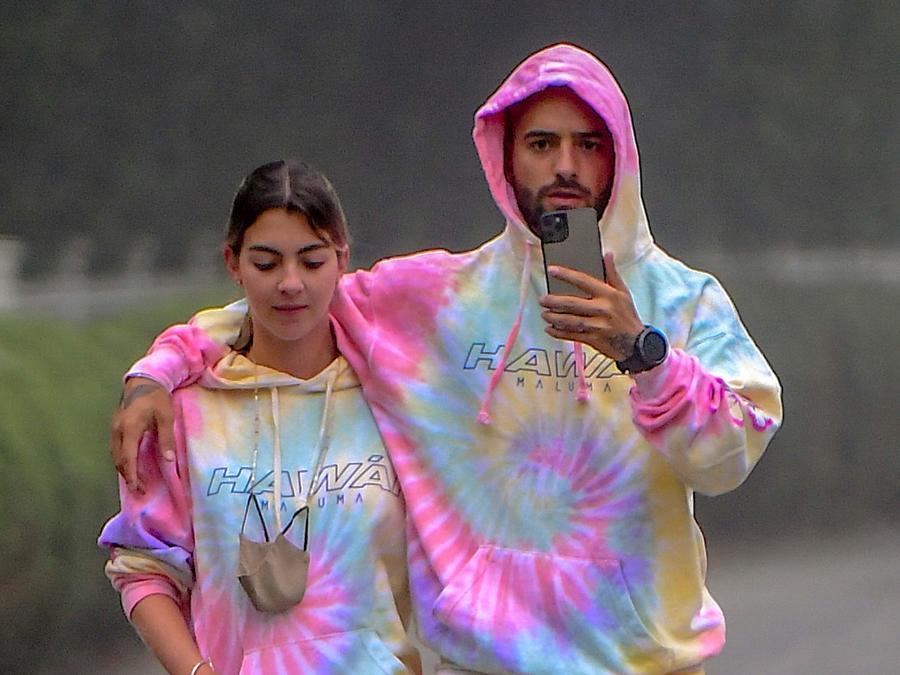 Maluma y Susana Gómez