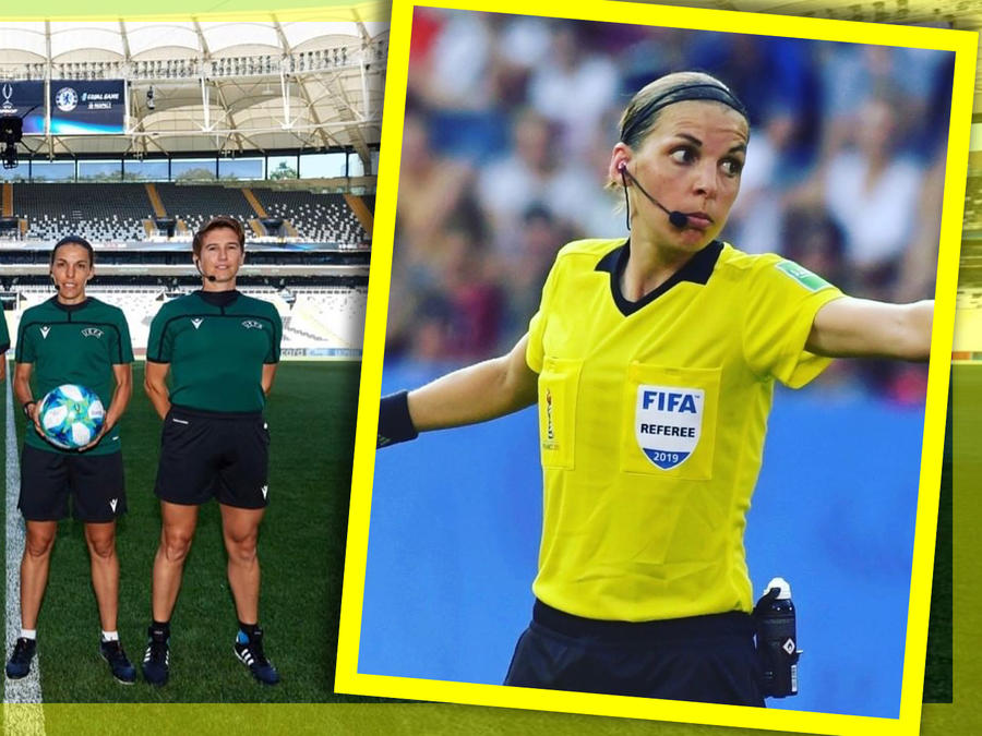 Arbitro mujer Champions