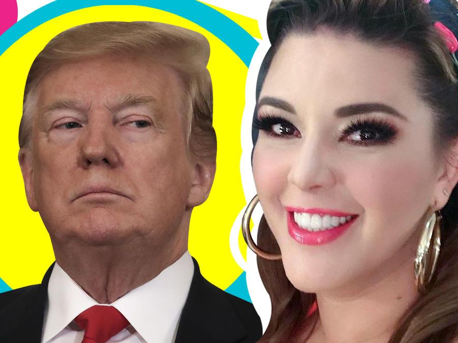 Alicia Machado vs Trump foto