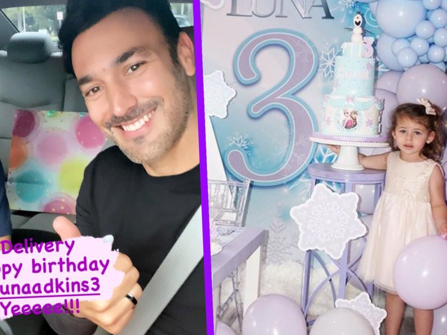 La hija de Ximena Duque recibió un regalo de cumpleaños de su  ex