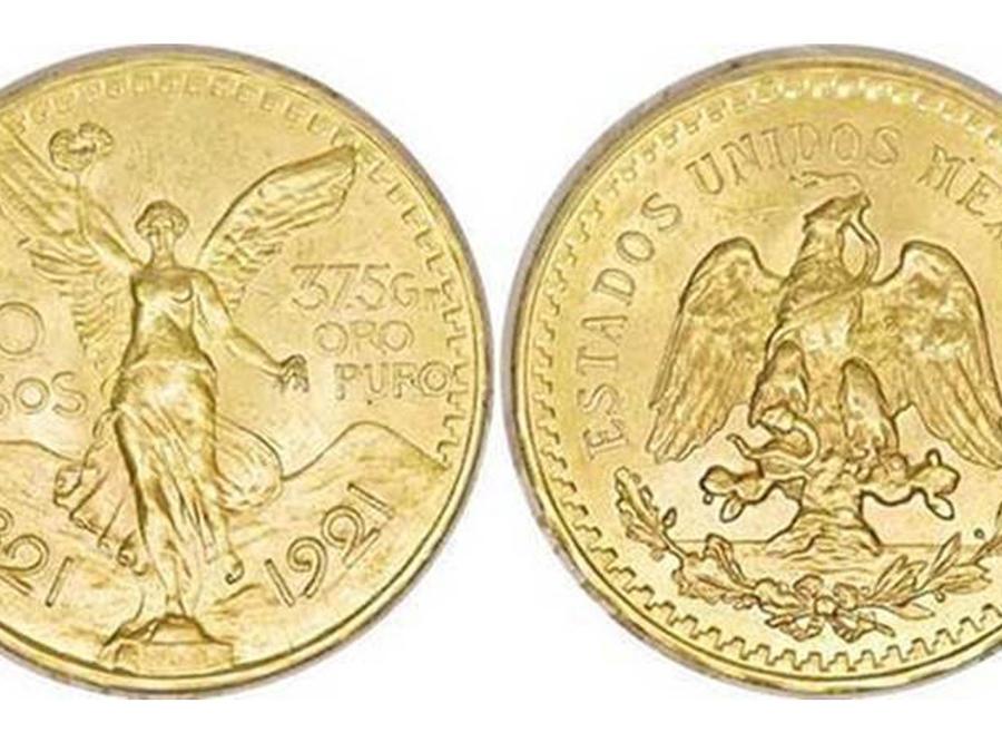 Monedas mexicanas más valiosas