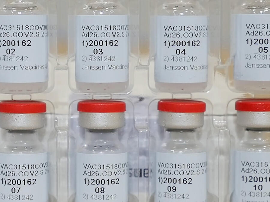 Dosis de la vacuna de Johnson & Johnson.