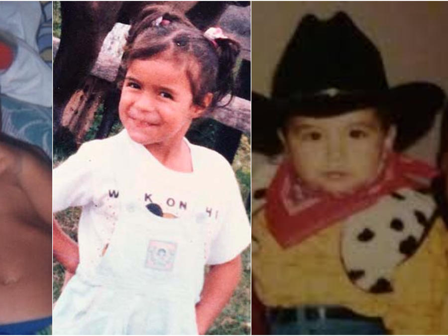 Maluma, Karol G y Christian Nodal de niños