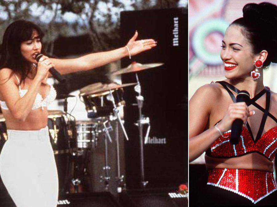 Jennifer Lopez en la película 'Selena'