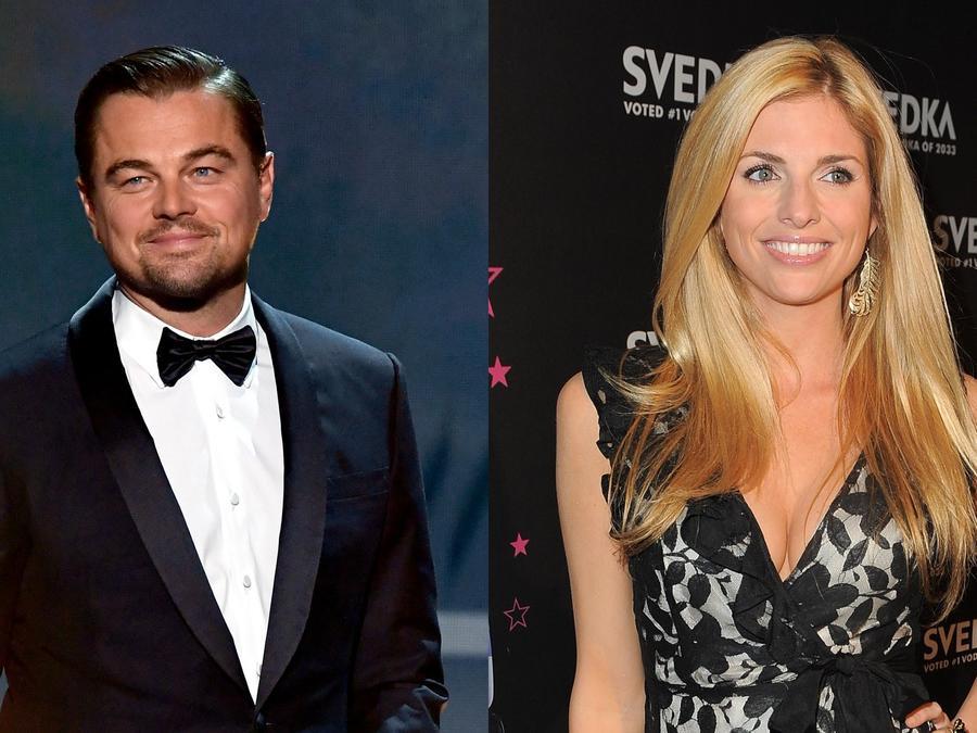 Leonardo DiCaprio y Trishelle Cannatella