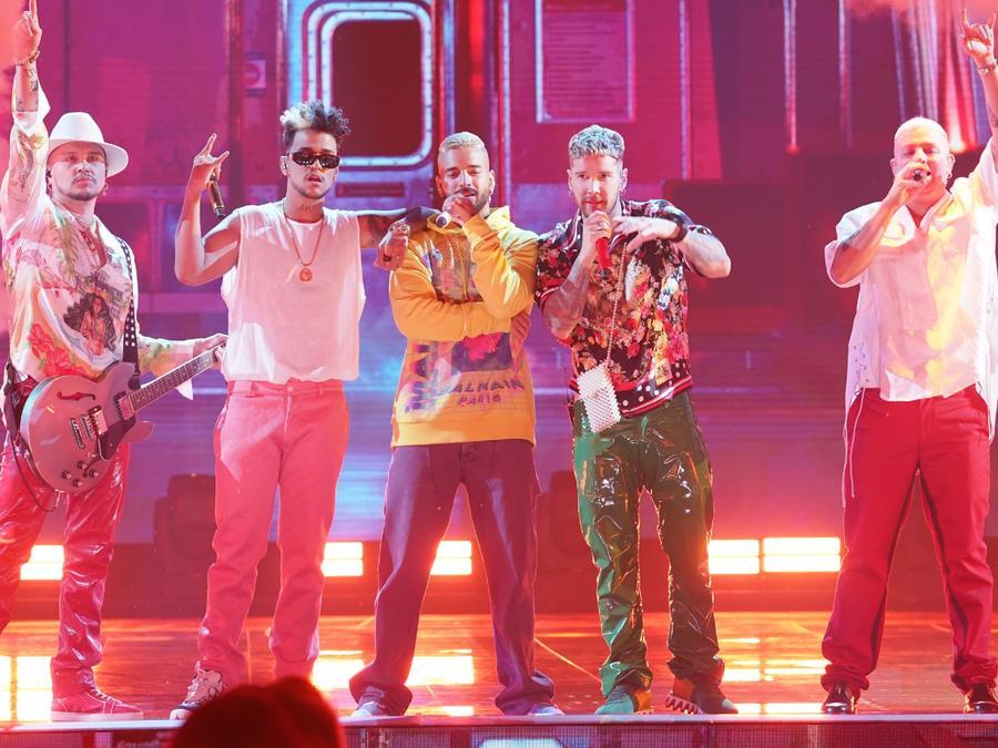 Maluma y Piso 21 en Latin American Music Awards