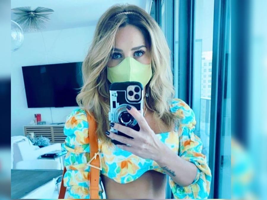 Geraldine Bazán selfie sexy
