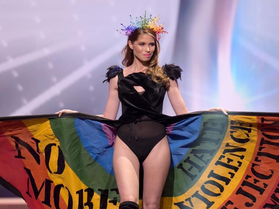 Lola de los Santos, Miss Uruguay 2020, candidata a Miss Universo 2021, 69na. edición traje típico