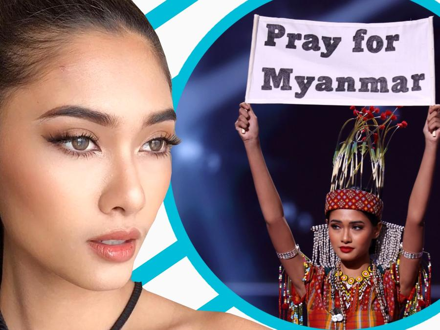 Miss Myanmar teme regresar a su país, ¿por miedo a ser encarcelada?