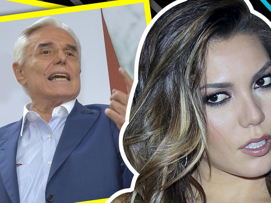 """Enrique Guzmán, en plena entrevista, llama """"hija de pu%@"""" a Frida Sofía"""