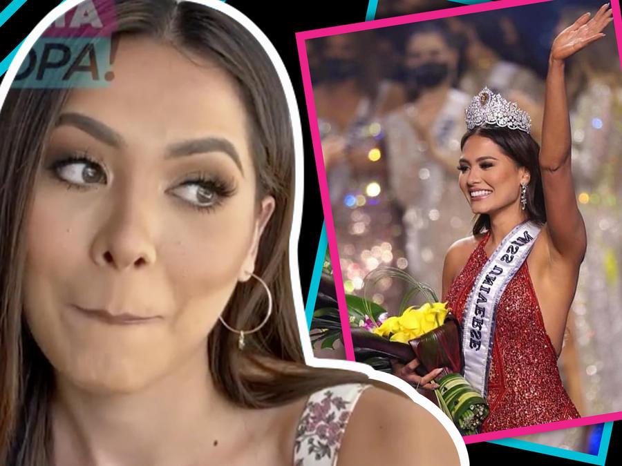 Andrea Meza responde directo a los que no superan su triunfo en Miss Universo