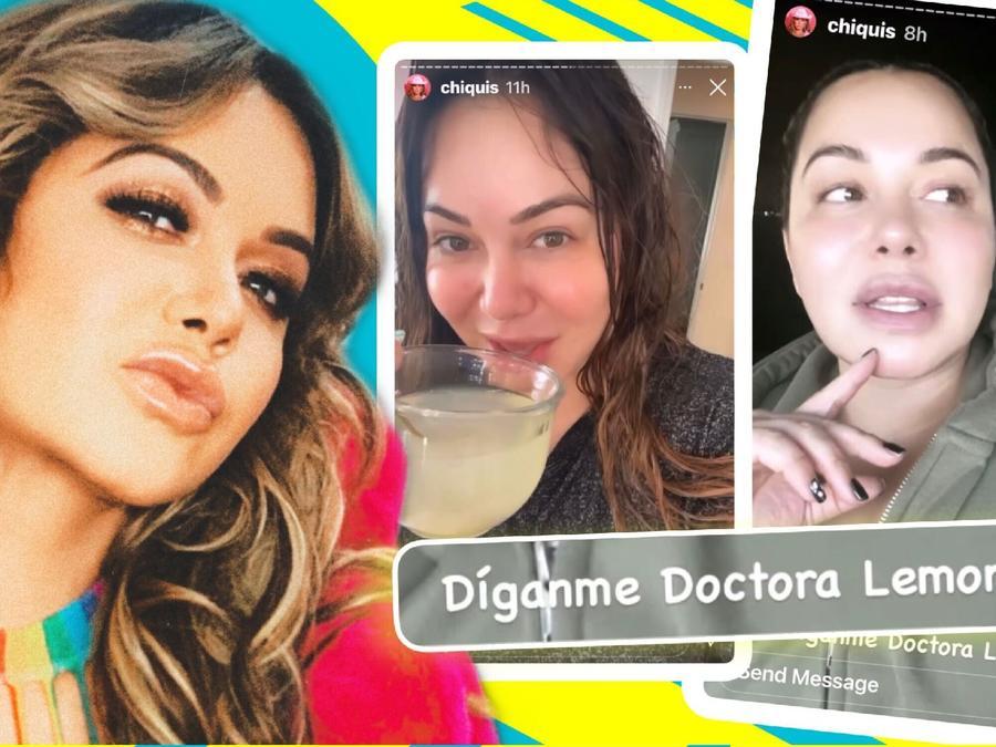 """Chiquis pide la llamen """"doctora limón"""" y revela ingredientes de su poción mágica"""