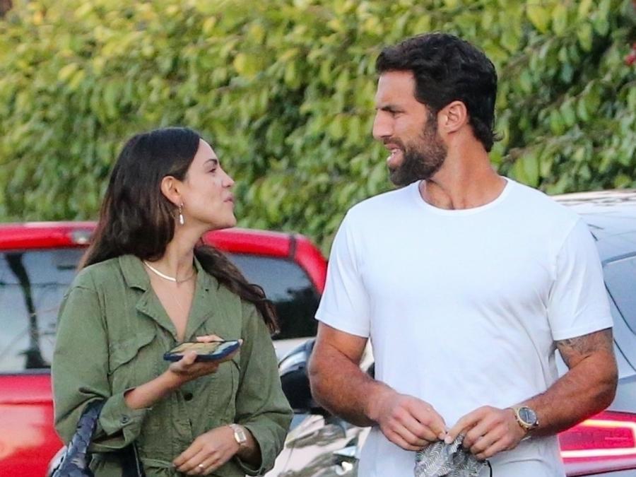 Eiza González y Paul Rabil