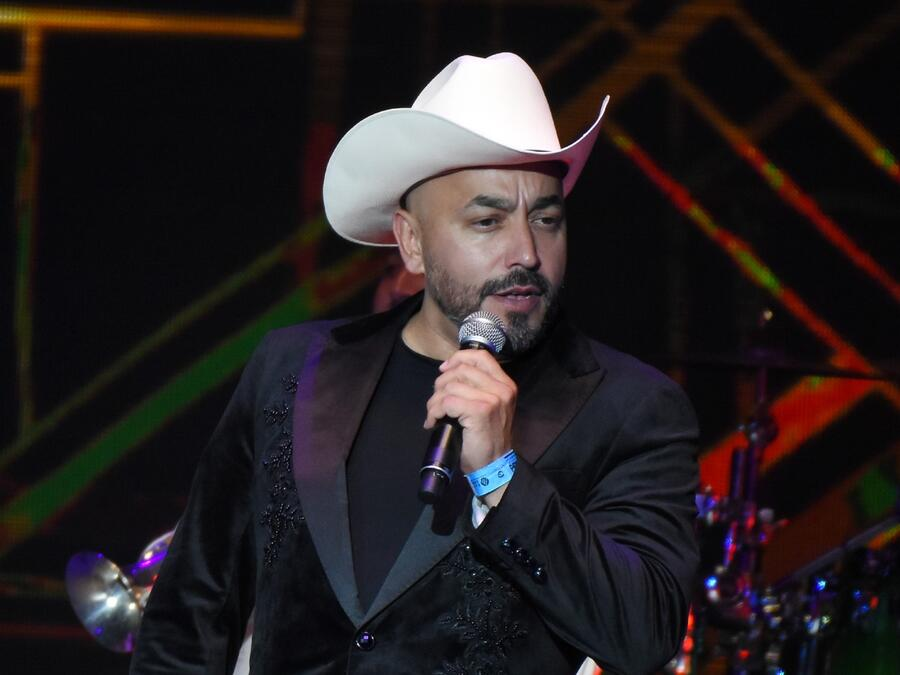 Lupillo Rivera en los Billboard Latin Music Showcase en el Palacio de Los Deportes 2018