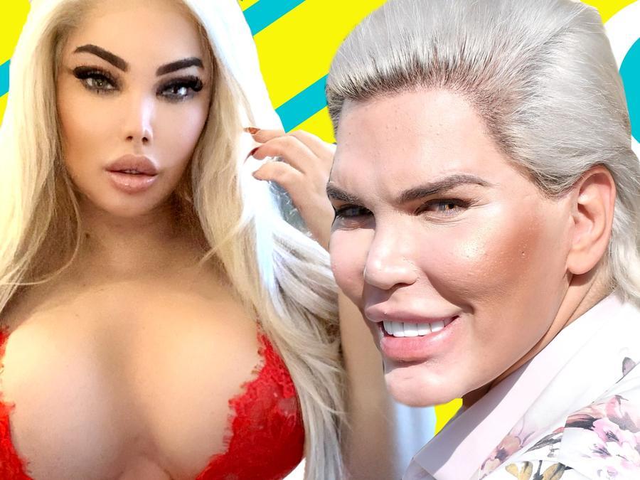 La Barbie Humana estrena senos y así los presume