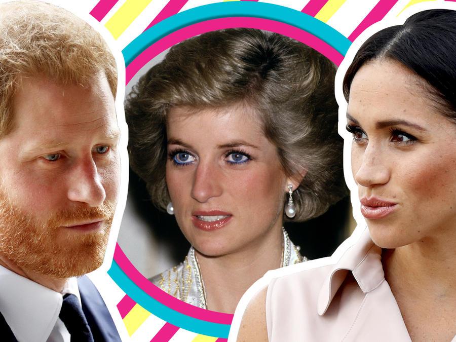 Meghan Markle lo hace de nuevo y ni por Lady Di se compadece del príncipe Harry