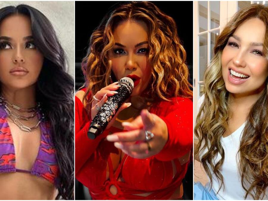 Becky G, Chiquis y Thalia