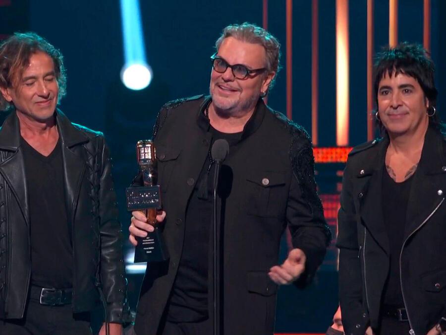 Maná recibe el Premio Billboard Ícono 2021