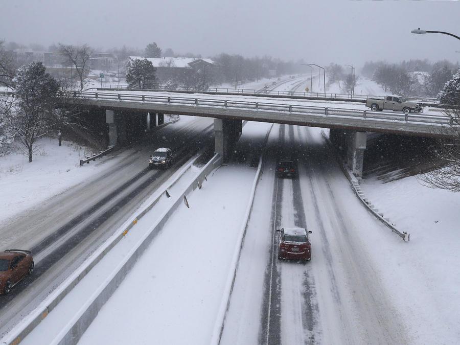 autopista nieve