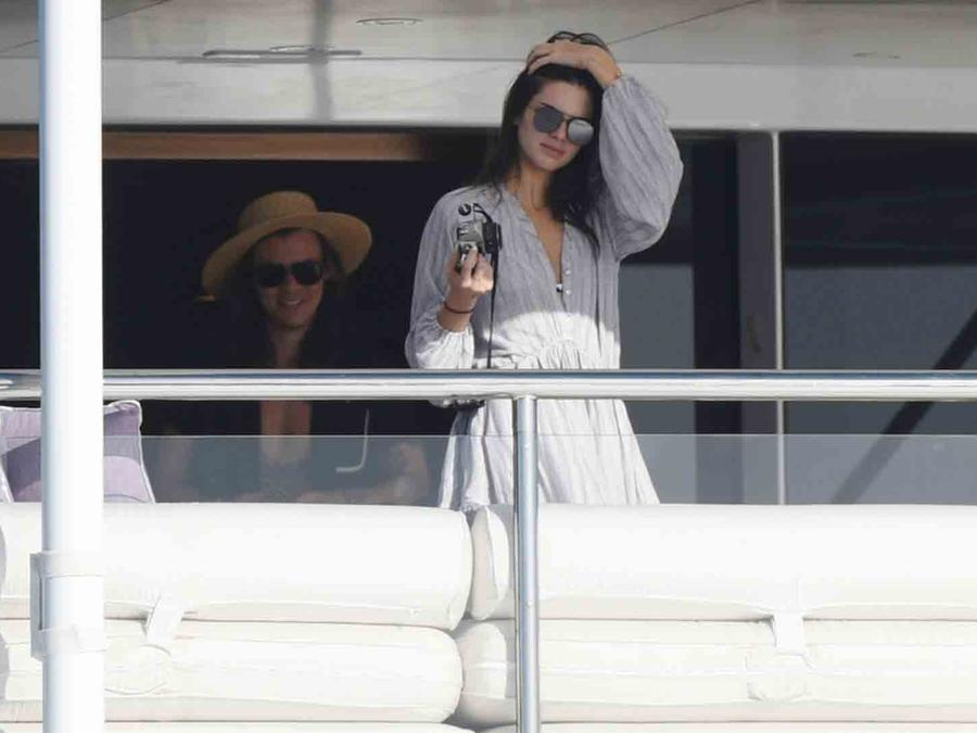 Kendall Jenner y Harry Styles en San Bartolomé