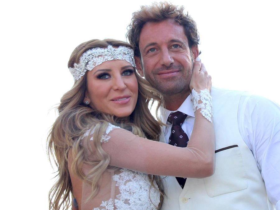 Gabriel Soto y Geraldine Bazán
