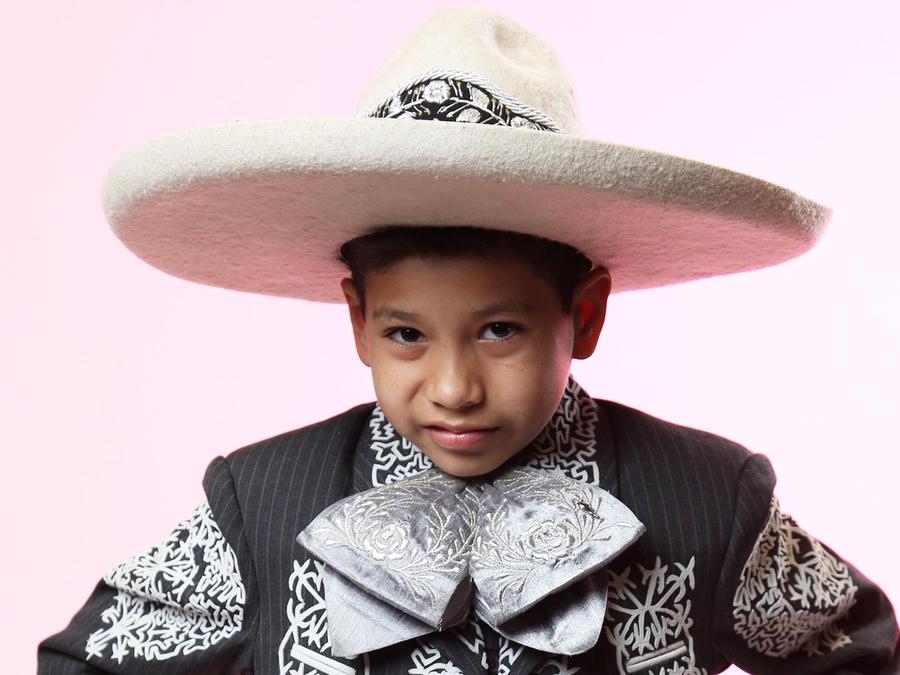 Gabriel Roldán del Team Pedro en La Voz Kids