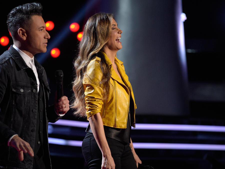 Jorge Bernal y Patricia Manterola audición a ciegas La Voz Kids 2016