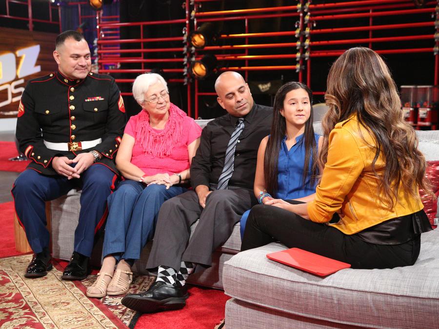 Keyli y su familia con Patricia Manterola La Voz Kids 2016 audiciones a ciegas